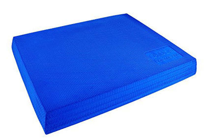 Picture of CanDo Balance Pad is a Foam Stability Trainer That's Terrific for Balance, Stretching, Physical Therapy, Mobility, Rehabilitation and core Strength Training.
