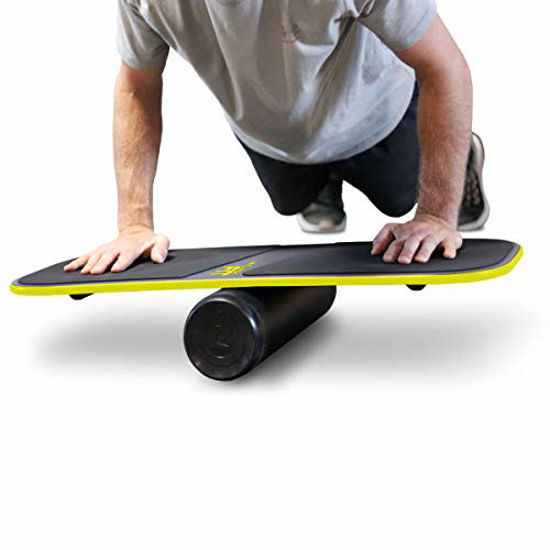 Picture of Revolution FIT 3-in-1 Exercise Balance Board Training System (Yellow)…