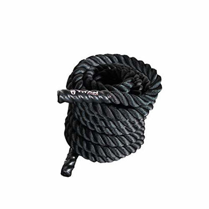 Picture of Titan Fitness 30 FT Length 1.5-in. Conditioning Battle Rope for HIIT Workouts, Cross Training