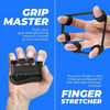 Picture of Grip Strength Trainer Kit (5 Pack), Hand Grip Strengthener Kit, Hand Strengthener & Grip Strength Kit - Hand Exerciser Grip Strengthener Kit, Grip Trainer & Hand Grips for Strength *Bonus Carry Bag*