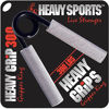 Picture of Heavy Grips Hand Grippers - 300lb – Effectively Train Your Hand Grip Strength w/Targeted Forearm, Wrist & Hand Exercises – High Weight Hand Grip Strengtheners