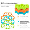 Picture of LDGFLY Hand Grip Strengthener Kit with Finger Exerciser, Finger Stretchers, Adjustable Hand Gripper and Exercise Rings. Strength Trainer for Athletes, Pianists, Guitar and Therapy.