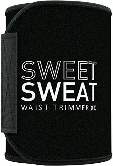 Picture of Sweet Sweat Waist Trimmer 'Xtra-Coverage' for Men & Women (Large)   Premium Waist Trainer Sauna Suit with More Torso Coverage for a Better Sweat!