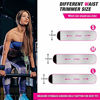 Picture of Waist Trimmer for Women and Men,Waist Trainer for Weight Loss,Waist Trainer Workout Sweat Band,Low Back and Lumbar Support with Sauna Suit Effect,Upgraded Nano Silver Coating (S)