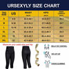 Picture of Women Fashion Waist Trainer Yoga Pant, Capris High Waist Tummy Control Sweat Legging Workout Thighs for Hot Weight Loss (Black Yoga Leggings Waist Control, L)