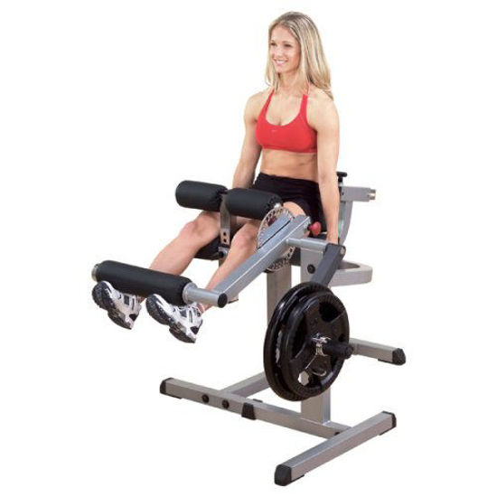 Picture of Body-Solid GCEC340 Cam Series Leg Extension and Curl Machine with Adjustable Seat, Hamstring Exerciser