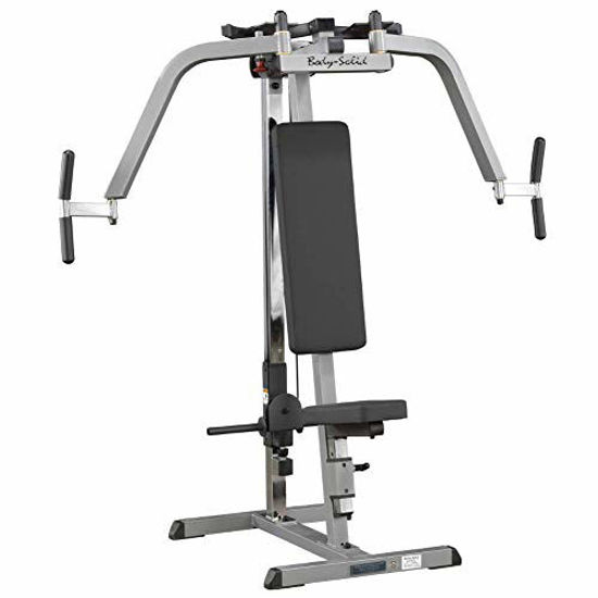 Picture of Body-Solid GPM65 Plate Loaded Pec Machine for Chest, Back, and Shoulder Training and Workouts