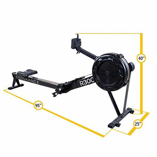 Picture of Body-Solid R300 Endurance Rower for Total Body Workout