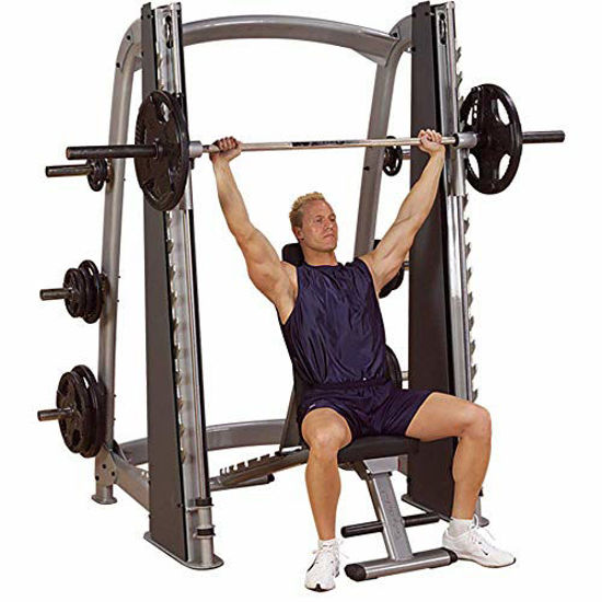 Picture of Body-Solid SCB1000 Pro Clubline Counter-Balanced Smith Machine for Weight Training, Home and Commercial Gym