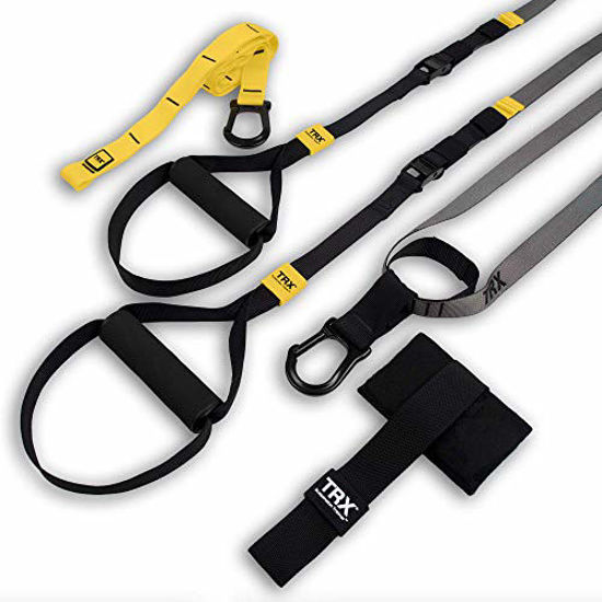 Picture of TRX GO Suspension Trainer System: Lightweight & Portable| Full Body Workouts, All Levels & All Goals| Includes Get Started Poster, 2 Workout Guides & Indoor/Outdoor Anchors
