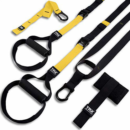 Picture of TRX ALL-IN-ONE Suspension Training: Bodyweight Resistance System | Full Body Workouts for Home, Travel, and Outdoors | Build Muscle, Burn Fat, Improve Cardio | Free Workouts Included