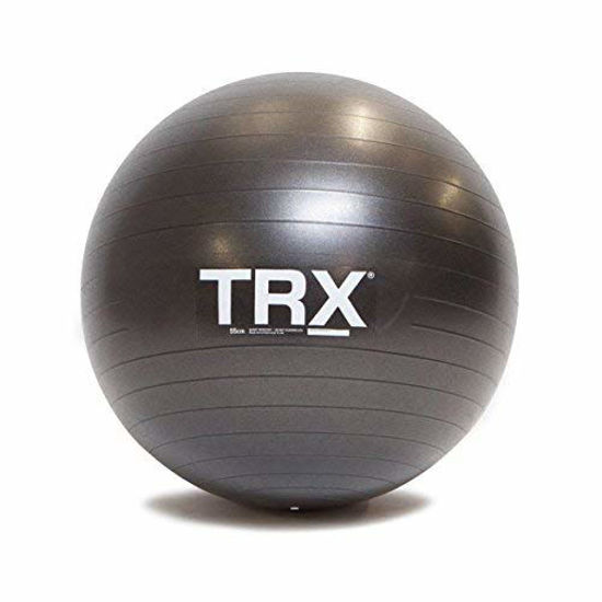 Picture of TRX Training Stability Ball, Made with Durable, No-Slip Vinyl, 65cm Dia.