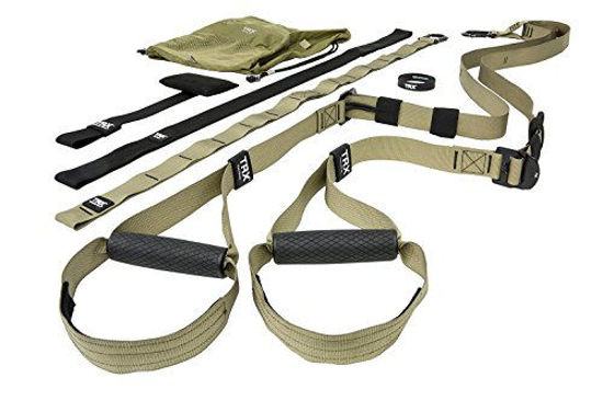 Picture of TRX Tactical Gym: The Most Durable Bodyweight Suspension Trainer | Used by US Military & Pro Athletes | Includes Free TRX Force APP with a 12-Week Conditioning Program | Free Rugged Mesh Travel Bag